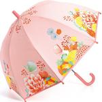 Børneparaply Djeco Floral Garden Umbrella - Pink