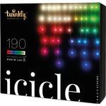 Twinkly Icicle 190L RGB+W Lyskæder