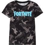 Name It Fortnite T-shirt - Black/Black (13186030)