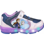 Blinke sko Børnesko Disney Frost Blinke Kondisko - Lilla