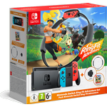 Nintendo Switch - Red/Blue - Ring Fit Adventure Set