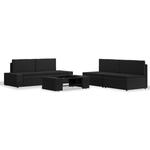 vidaXL 3054582 Loungesæt, 1 borde inkl. 4 sofaer