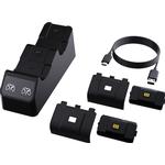 Piranha gaming Spil tilbehør Piranha Xbox One/Xbox X Dual Controller Charge Station - Black/Grey