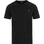 T-Shirts & Toppe Herretøj Polo Ralph Lauren Classic Fit Soft Cotton Crewneck T-Shirt - Polo Black