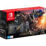 Nintendo Switch - Grey - 2021 - Monster Hunter: Rise Edition