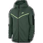 Nike Tech Fleece Full-Zip Hoodie Men - Galactic Jade/Light Liquid Lime