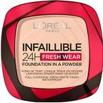 L'Oreal Paris Infaillible 24H Fresh Wear Foundation in a Powder #180 Rose Sand