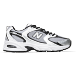 New Balance 530 - Silver Mink with Black