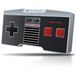 Nintendo NES Classic Wireless Controller - Black/White/Grey