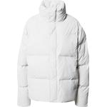 Rains Boxy Puffer Jacket - Off White