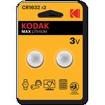 Kodak CR1632 2-pack