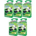 Fujifilm QuickSnap Flash 400 ( Pack of 5)