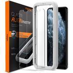 Spigen GLAS.tR Slim EZ Fit Screen Protector for iPhone 11/XR 2-Pack