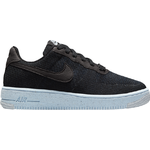 Nike Air Force 1 Crater Flyknit GS - Black/Chambray Blue/Black