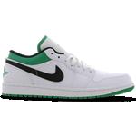 Nike Air Jordan 1 Low M - White/Black/Stadium Green