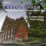 Sandstrom Musik CD Allmänna Sången - Choral Music (Swedish) - Sandstrom, J. / Rehnqvist, K. / Stenhammar, W. / Hillborg, A. / Palm, H. (Resonanser) (Allmanna Sangen, Alin)
