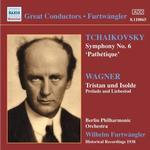"Prelude Musik CD Tchaikovsky: Symphony No. 6 ""Pathétique"", Wagner: Tristan und Isolde (Prelude & Liebestod)"
