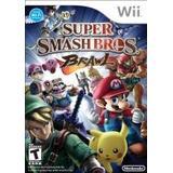 Nintendo Wii spil Super Smash Bros. Brawl