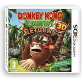 Nintendo 3DS spil Donkey Kong Country Returns 3D
