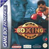 GameBoy Advance spil Mike Tyson Boxing