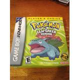 GameBoy Advance spil Pokemon Leaf Green