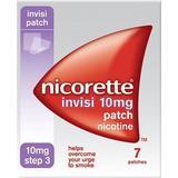 Nikotinplaster Håndkøbsmedicin Nicorette Step3 Invisi 10mg 7stk