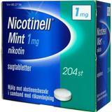 Nikotintablet Nicotinell Mint 1mg 204stk