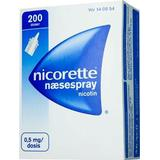 Nikotinspray Håndkøbsmedicin Nicorette Nicotin 0.5mg 200 doser