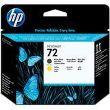 Printhoved HP 72 Printhead(Matte Black/Yellow)