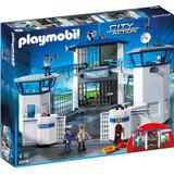 Legesæt Playmobil Politistation Med Fængsel 6919