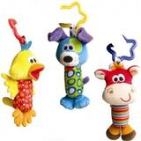 Barnevognslegetøj Playgro Tinkle Trio Rangler
