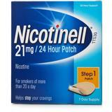 Nikotinplaster Håndkøbsmedicin Nicotinell 21mg Step1 7stk