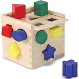 Puttekasse Melissa & Doug Shape Sorting Cube Classic Toy