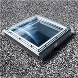 Ovenlysvindue Velux CFP 080080 0073 800x800 PVC-U Ovenlysvindue Dobbelt-rude 80x80cm