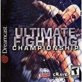 Dreamcast spil Ultimate Fighting Championship (UFC)