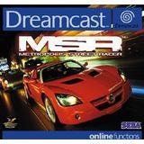 Dreamcast spil MSR Metropolis Street Racer