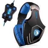 Gaming Headset Høretelefoner Sades A60