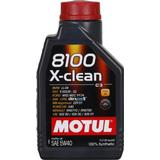 5w40 Biludstyr Motul 8100 X-Clean 5W-40 1L Motorolie