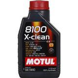 5w40 Biludstyr Motul 8100 X-clean 5W-40 5L Motorolie