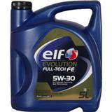5w30 Biludstyr Elf Evolution Full-Tech FE 5W-30 5L Motorolie