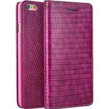 Mobiltelefon tilbehør Qialino Crocodile Pattern Leather Wallet Case (iPhone 6/6S)