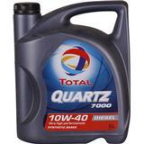 10w40 Biludstyr Total Quartz Diesel 7000 10W-40 5L Motorolie