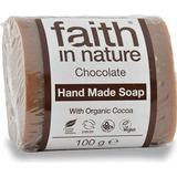 Kropssæbe Kropssæbe Faith in Nature Chocolate Soap 100g