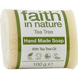 Kropssæbe Kropssæbe Faith in Nature Tea Tree Soap 100g