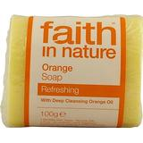 Kropssæbe Kropssæbe Faith in Nature Orange Soap 100g