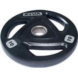Vægtskiver Ziva Rubber Weight Plate 10kg