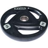 Vægtskiver Ziva Rubber Weight Plate 15kg
