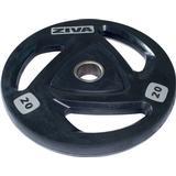 Vægtskiver Ziva Rubber Weight Plate 25kg
