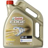 5w40 Biludstyr Castrol Edge Titanium FST Turbo Diesel 5W-40 5L Motorolie