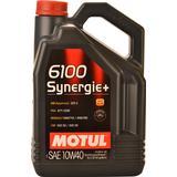10w40 Biludstyr Motul 6100 Synergie+ 10W-40 Motorolie
